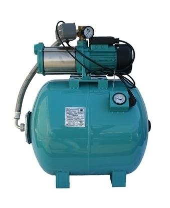 Picture of Hidrofor pompa de suprafata Omnigena  MH 2200/80 rezervor 80 litri cu manometru, 2.2 Kw