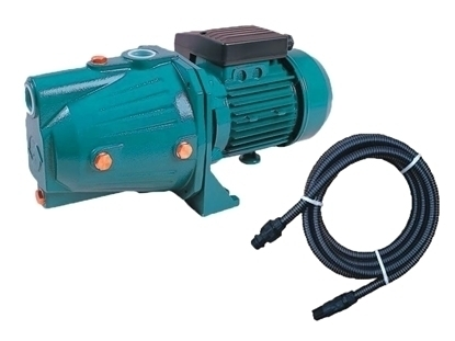 Picture of Kit pentru irigat, pompa autoamorsanta APC JY 100A 0.8 kW Corp Fonta cu furtun de aspirare 7 m