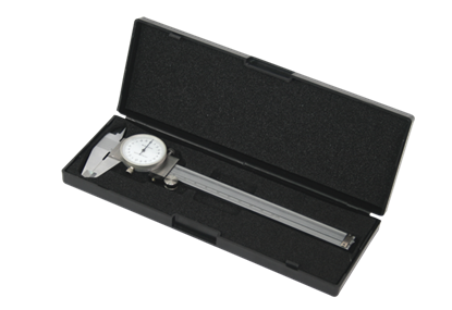 Picture of Subler cu ceas pentru masurat 150х0.02mm, cutie depozitare, Topmaster 280304