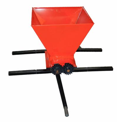 Picture of Zdrobitor manual reglabil pentru struguri, 350 kg/ora, 35 litri