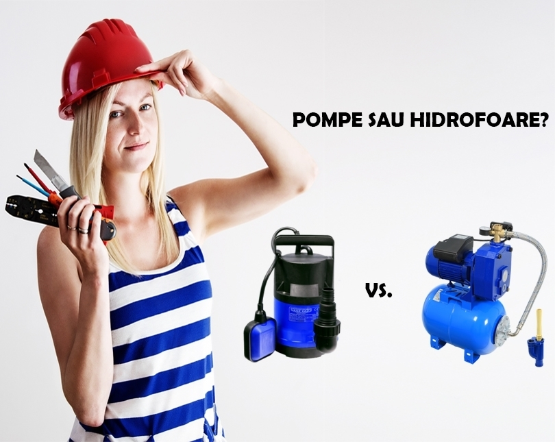 Care este diferența dintre o pompă submersibilă și un hidrofor?