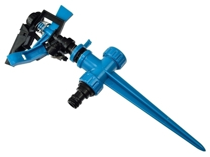 Picture of Aspersor cu impuls din plastic Geko BLUE LINE, G73050