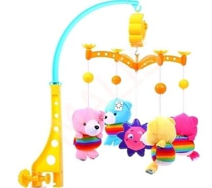 Picture of Carusel pentru patut cu mascote, Malplay 101001