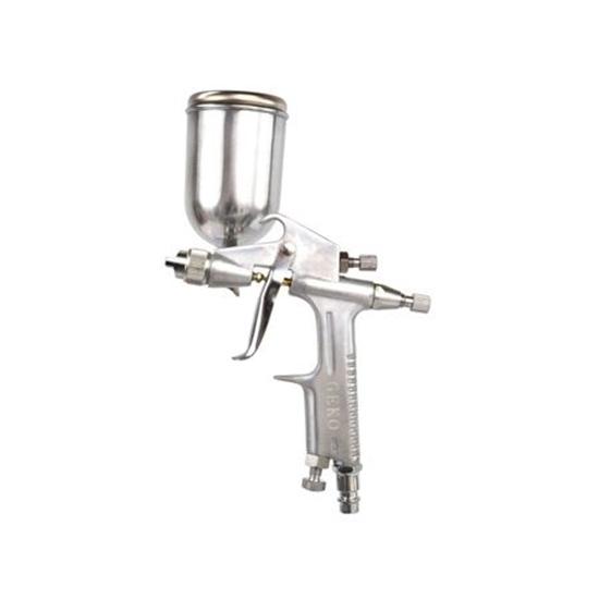 Picture of Pistol de vopsit profesional cu aer comprimat, rezervorul pozitionat in sus, HVLP 200ml, 0.5mm, Geko