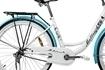 Picture of Bicicleta de Oras MalTrack Blue Mare, Roti 26 Inch, Cos Cumparaturi si Motive Florale