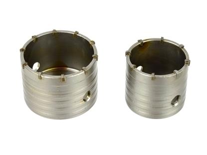 Picture of Set carote pentru beton  65 + 80 / adaptor 300 / 350mm SDS, Geko,  G40004
