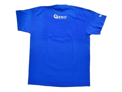 Picture of Tricou din bumbac, albastru, marimea M, Geko, Q00003