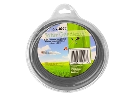 Picture of Coarda taiere pentru masini de tuns iarba, rotunda, din plastic otelit, 3mm x 50m
