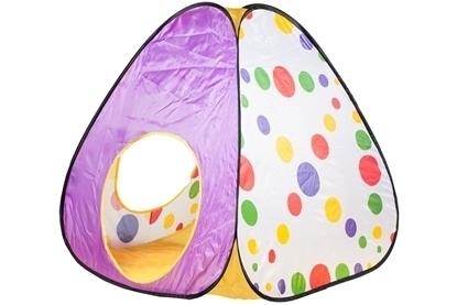 Picture of Cort pentru copii din doua piese MalPlay, Cort+Tunel 101715