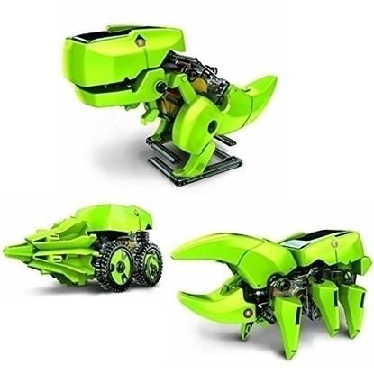 Picture of Robotel Dinozaur 4 in 1, alimentare solara
