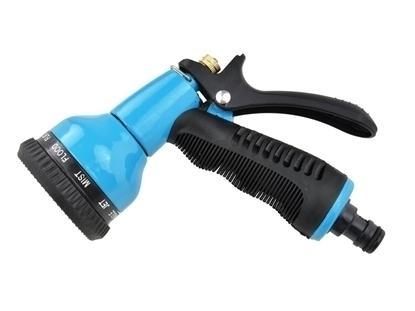 Picture of Pistol pentru stropit cu reglare, Geko Profi, Blue Line, G73005