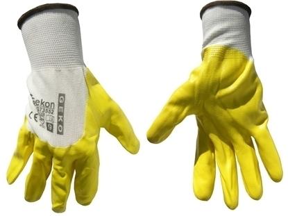 Picture of Mănuși galbene pentru protecție, marimea 9, GEKO G73552