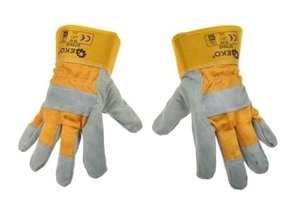 Picture of Mănuși de protecție din piele, mărimea 10, Geko G73545
