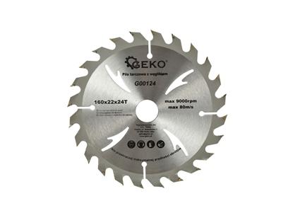 Picture of Disc pentru lemn, 160x22x24T, Geko G00124
