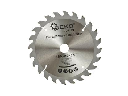 Picture of Disc pentru lemn, 180x22x24T, Geko G00129