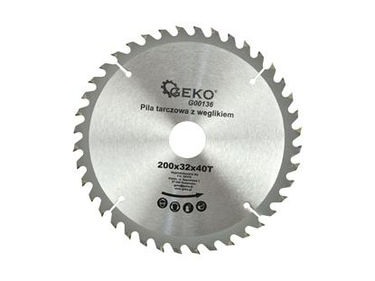 Picture of Disc pentru lemn, 200x32x40T, Geko G00136