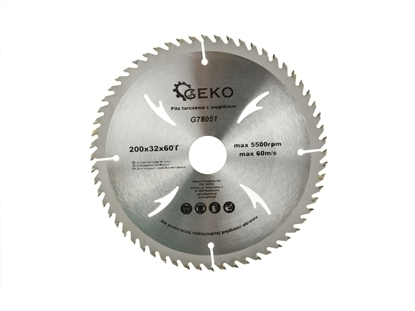 Picture of Disc pentru lemn, 200x32x60T, Geko G78051