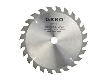 Picture of Disc pentru lemn, 230x22x24T, Geko G00138