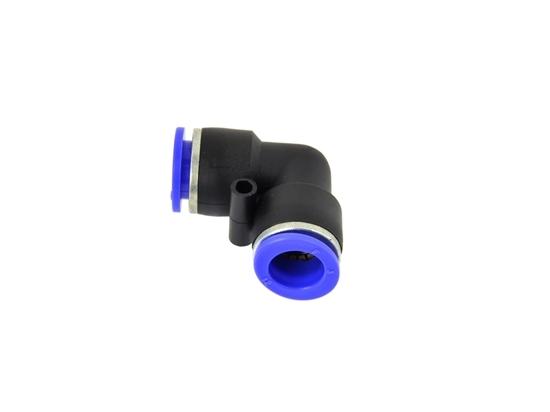 Picture of Conector furtun pneumatic PU/PE, tip L, 8mm, GEKO G03032
