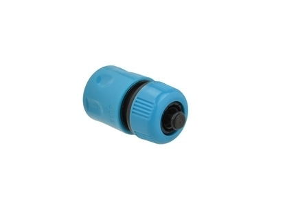 "Picture of Conector rapid 1/2"" cu opritor, BLUE LINE, GEKO G73031B"