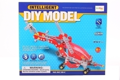 Picture of Set constructie elicopter 413 piese, MalPlay 102041