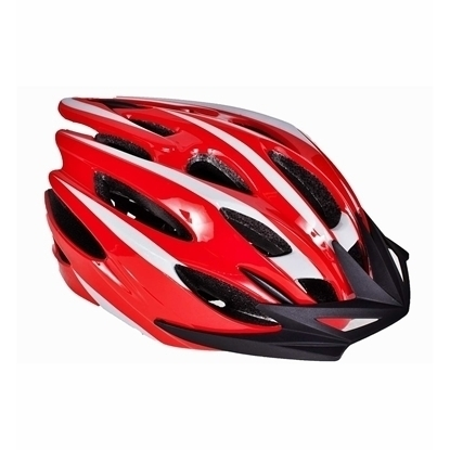 Picture of Casca Protectie Ciclism pentru Bicicleta cu 26 Orificii Ventilatie, Model Sporting Rosu, Dimensiuni 55-59cm