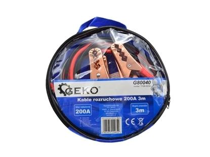 Picture of Cabluri de pornire 200A 3m, Geko G80040