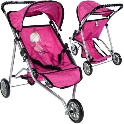 Picture of Carucior pentru plimbare Little Princess Pink, Malplay 102862