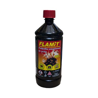 Picture of Lichid pentru aprinderea focului din cuptoare, seminee sau gratare, Flamit,  980ml
