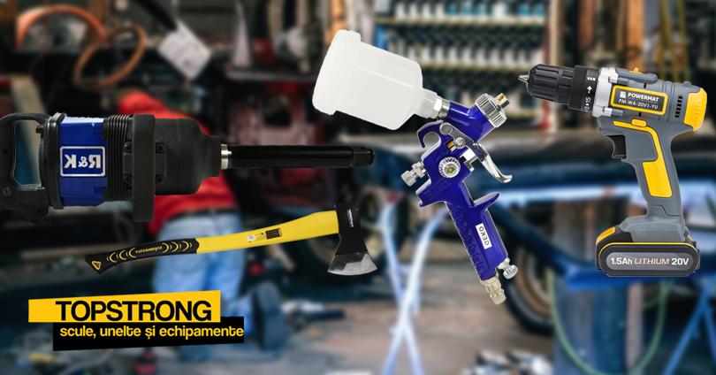 TopStrong dispune de stoc generos cu produse pentru ateliere, service-uri și nu numai