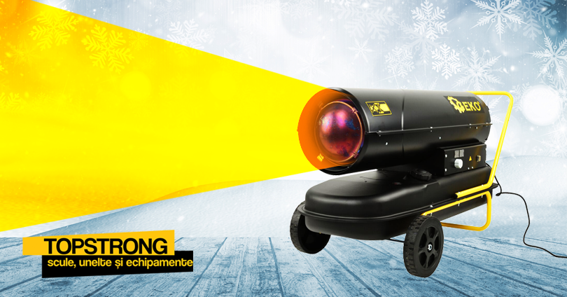 Cum încălzești eficient spațiile medii și mari? TopStrong are soluția pentru tine!