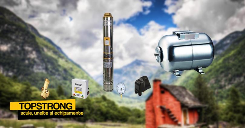 Sistemul hidrofor cu pompă submersibilă potrivit pentru spațiul tău