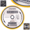 Picture of Disc pentru fierastrau circular TDD-305x30mm 100 dinti, Powermat PM0903