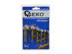 Picture of Set 6 freze 45-63mm, GEKO G38520