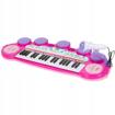 Picture of Orga electronica roz cu microfon și tobe, Malplay 101900