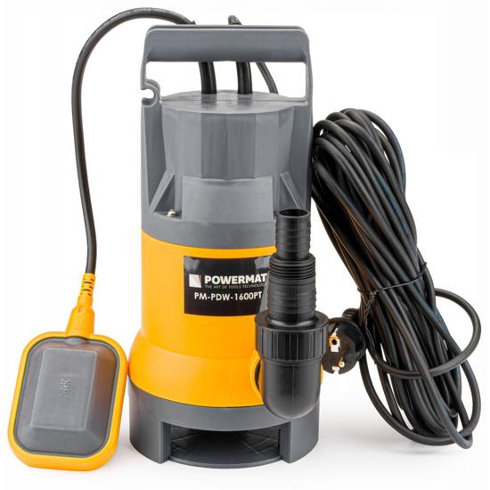 Picture of Pompa submersibilă cu flotor pentru fose septice 1600W, Powermat PM-PDW-1600PT